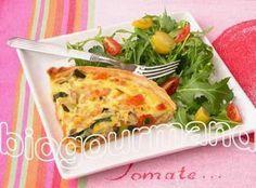 SANS GLUTEN SANS LACTOSE: Quiche aux légumes sans gluten et sans lactose