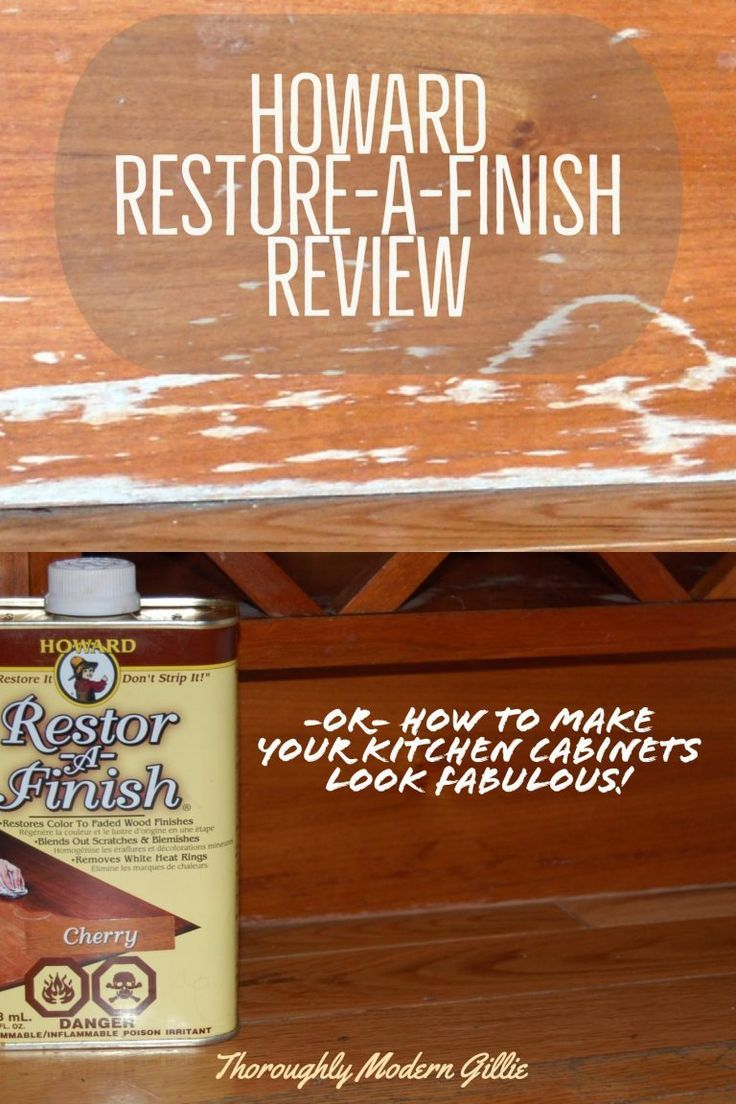 Howard Restore A Finish Review Refresh Your Woodwork Diy