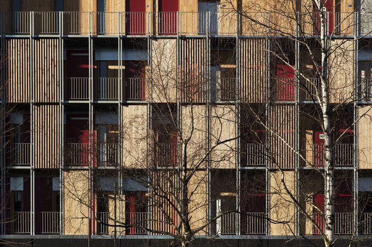 Le Vialenc Residential Block,© Benoit Alazard