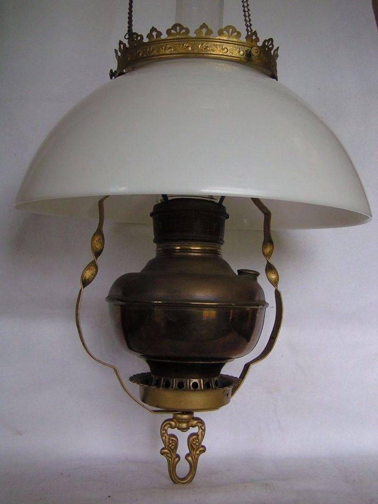 Details About Antique Miller Juno Lamp Co Central Drought