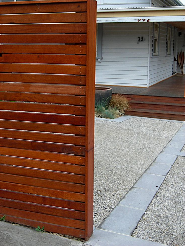 Image detail for all day fencing horizontal slat screens for Wood screen fence