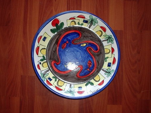 piatto murale diametro cm 30