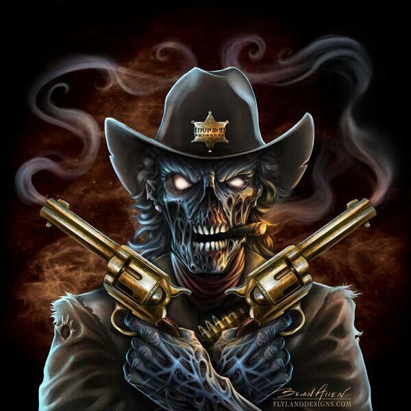 df5c39be87f Cowboy Skull