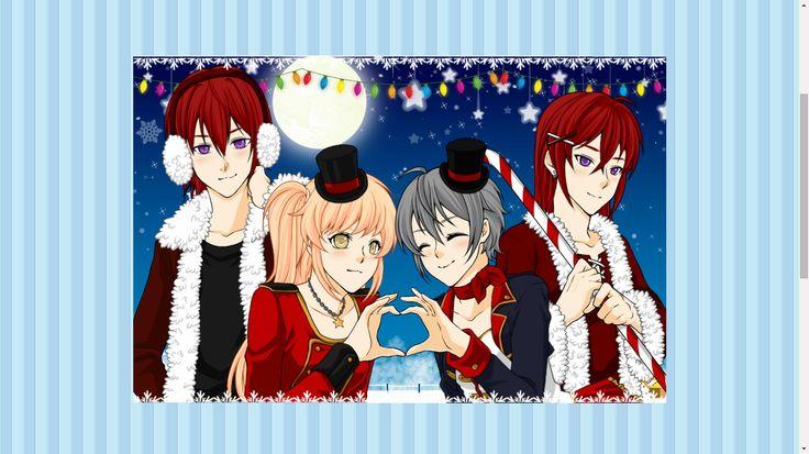 Xmas_Rin,Momiji,Lily and Len