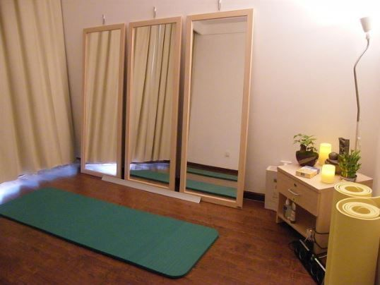 107 Yoga Room Ideas For A Peaceful Experience Home Yoga Room Yoga Studio Home Meditation Room