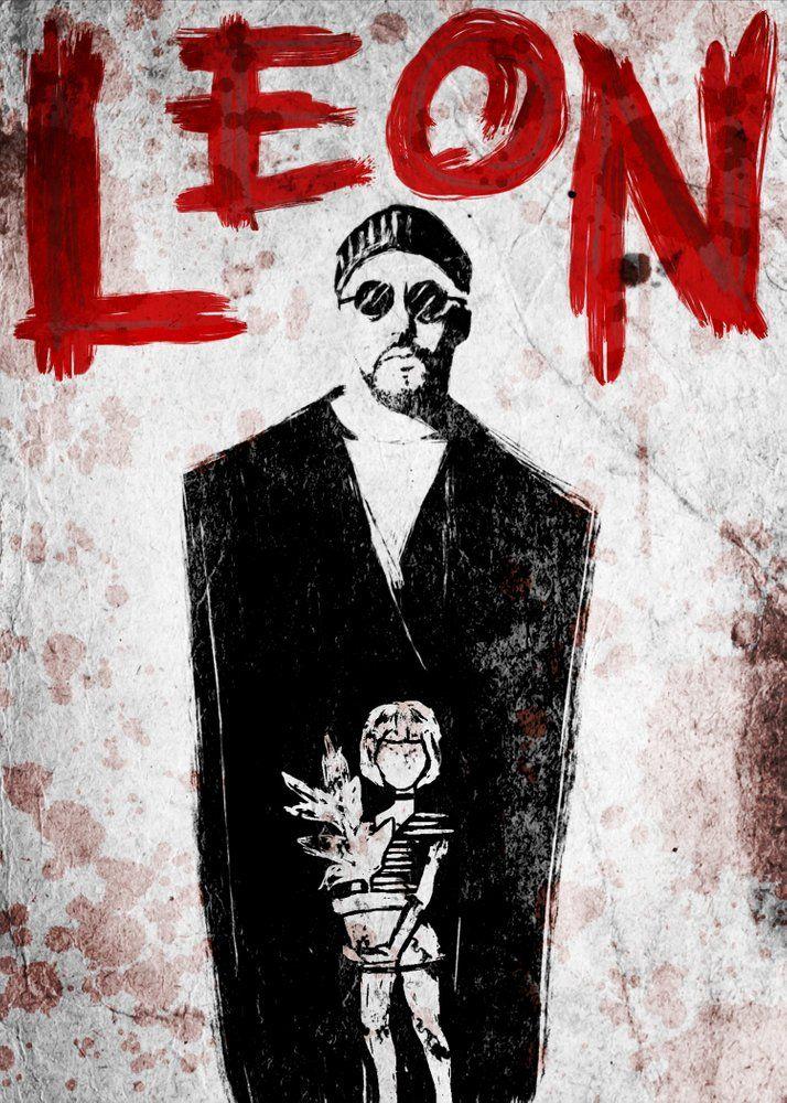 Leon in 2021 movie art movie poster art film art