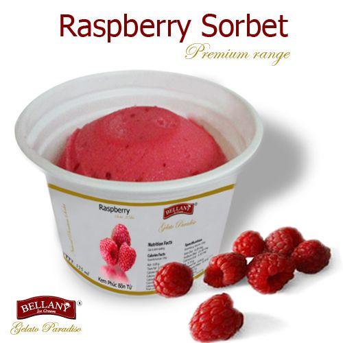 Phúc bồn tử thuộc dòng kem không béo trong các dòng sản phẩm của Bellany, với hương vị đậm đà từ trái cây tươi nguyên chất đã tạo ra được vị kem đích thực!  Our Raspberry sorbet, with its vibrant taste made of this flavor an authentic ice cream!  #kemphucbontu #raspberrysorbet   #bellanyicecream  #kemcaocap #kemkhongbeo