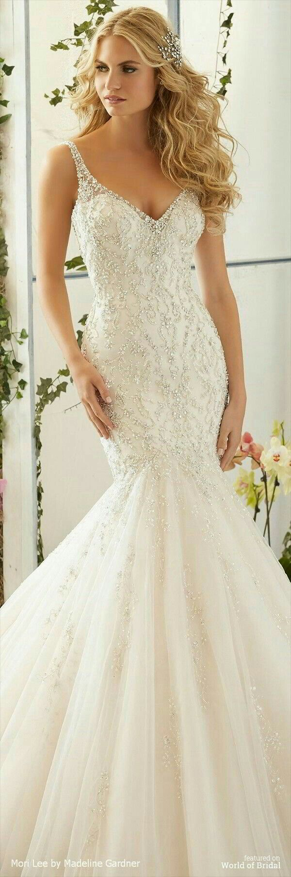 42 best Bliss Gowns: Mori Lee images on Pinterest | Wedding frocks ...