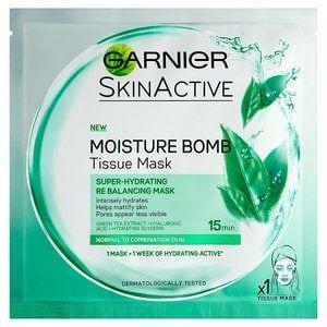 Garnier Moisture Bomb Green Tea Tissue Mask