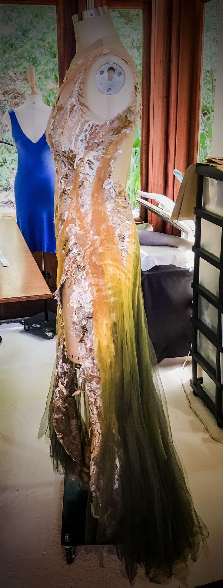 Midsummer Night's Dream themed custom dress