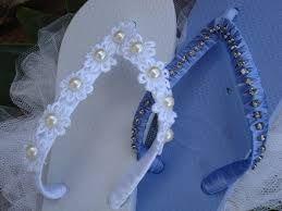 chinelos decorados com perola - Pesquisa Google