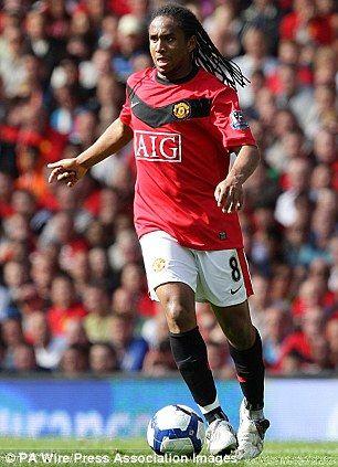 Manchester United midfielder Anderson