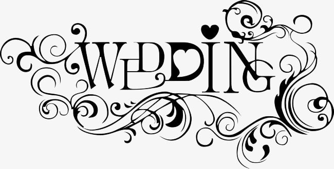 Wedding Text Png