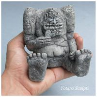 The Neverending Story Rockbiter  new model 2 by yotaro-sculpts