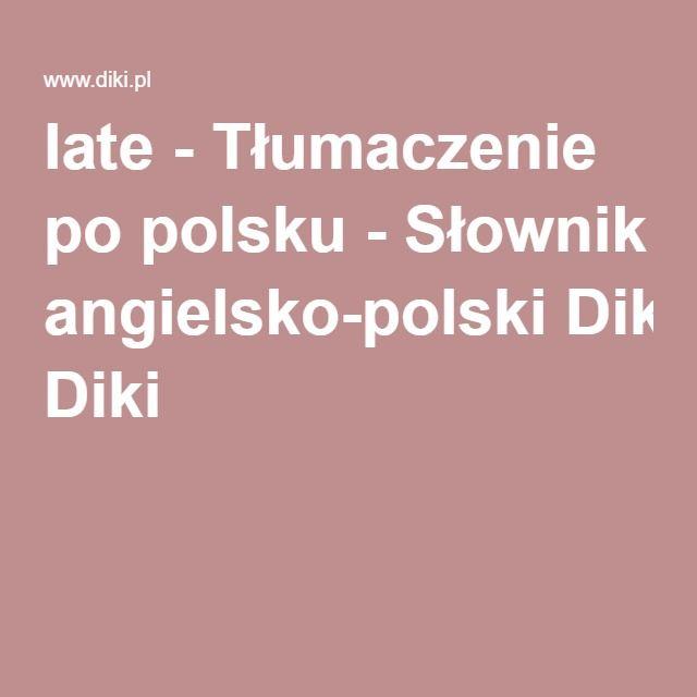 Słownik angielsko-polski Diki z nagraniami wymowy