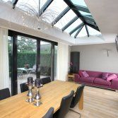 Lichtstraten hout en aluminium | Busscher serrebouw | Meer licht en ruimte in de woning | www.busscher-serres.nl