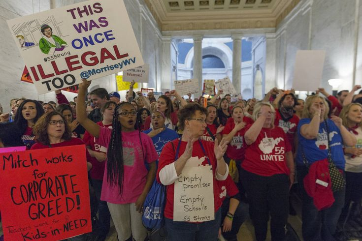 A nine-day teacher walkout over pay and benefits that began on Feb. 22 has tentatively ended, but teachers say they will return to classrooms only if the House and Senate pass the legislation that would increase wages for teachers and state workers.