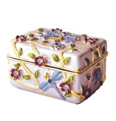 "Pink Dragonfly Chest Box Swarovski Crystals Trinket Pill box set with sparkling Swarovski Crystals. hand enameled by skilled artisans.    Save 10% on your order! Use code ""pinterest"" FREE STANDARD SHIPPING ON ALL ORDERS!"