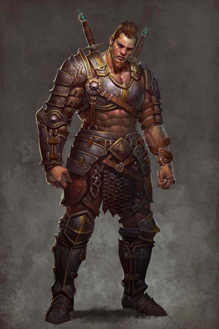 Fantasy warrior men - photo#33