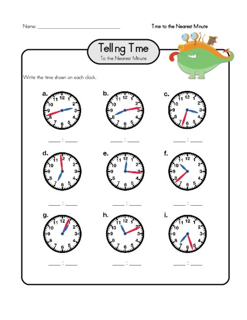 1000+ images about Telling Time Worksheets on Pinterest   Drawing ...