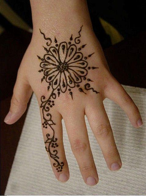 Beautiful Henna Mehndi Designs for Kids