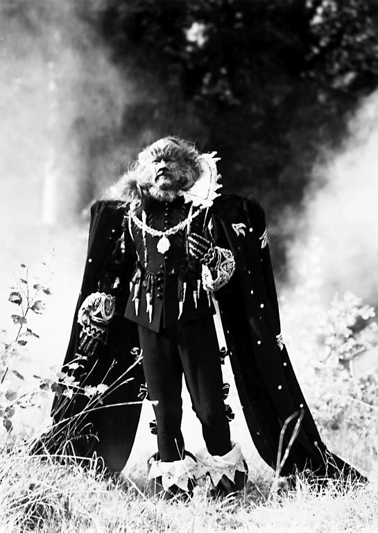 Jean Marais as the Biest in La Belle et la Bête 1946