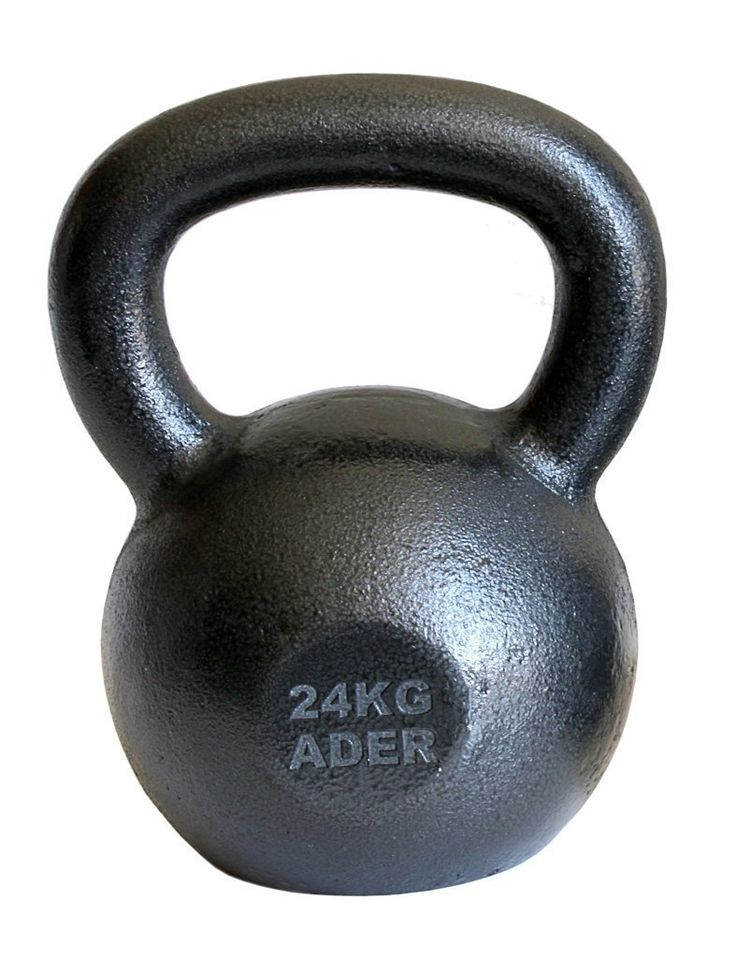 Ader Premier Kettlebell- (24kg). Ader 24 kg (53lb) premier style kettlebell. Professional quality Russian kettlebell. Ships to all 50 States, APO, FPO, and P.O. Box.