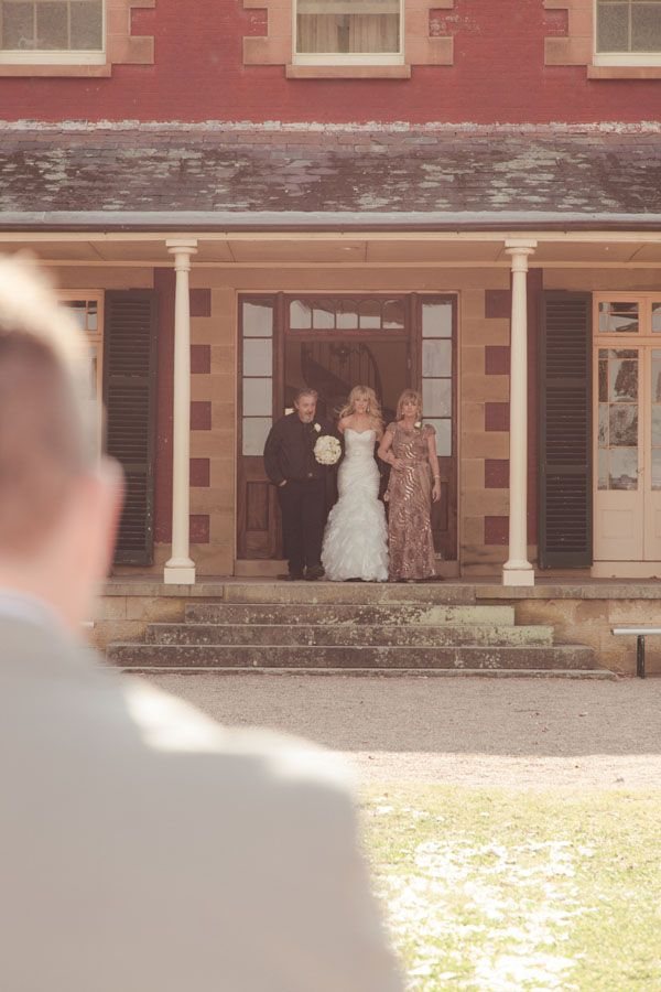 Brooke and Bryce's big day! What a stunning entrance!  #tocalhomestead #rusticwedding #wedding #popcornphotography