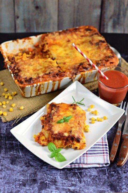 Mexikói lasagne -- kifőztük.hu