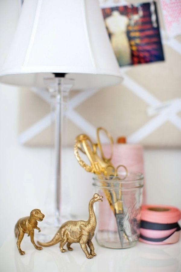 BUY or DIY Gold Animals