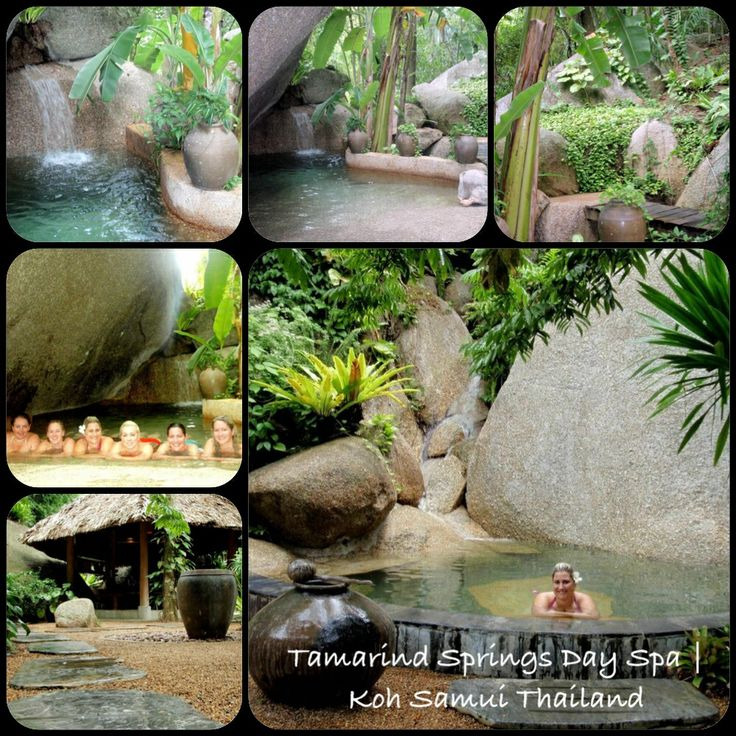 LIVING MY BUCKET LIST: Tamarind Springs Day Spa in Koh Samui is heaven on Earth! We spent 6hrs here for about $170AUD. I would pay about $800 for that experience at home. Rock pools, sauna caves, 2hr massage and lunch! #no filter #spendlifeliving www.facebook.com/howtoSpendLifeLiving!! Photos taken by Jasmine Phillips