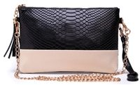 Two tone clutch from lovemisseve.com