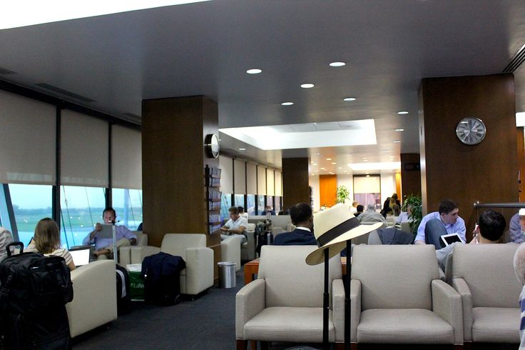 Copa Lounge at Tocumen International Airport in Panama, the hub of the Americas:  www.traveladept.com