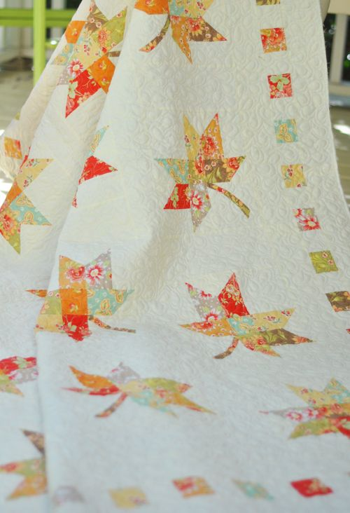 54 Best Quilting Maple Leaf Images On Pinterest Autumn