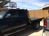 """2000 Dodge Ram 3500 Pickup - Flatbed with 5"""" Dual Stacks"""