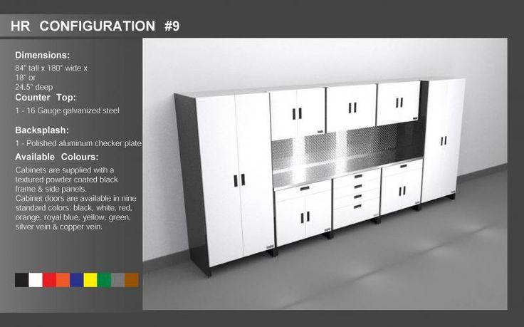 Cabinets By Hayley :: Premium Garage Storage :: HR Series   Garage    Pinterest   Garage Storage, Metal Storage Cabinets And Storage