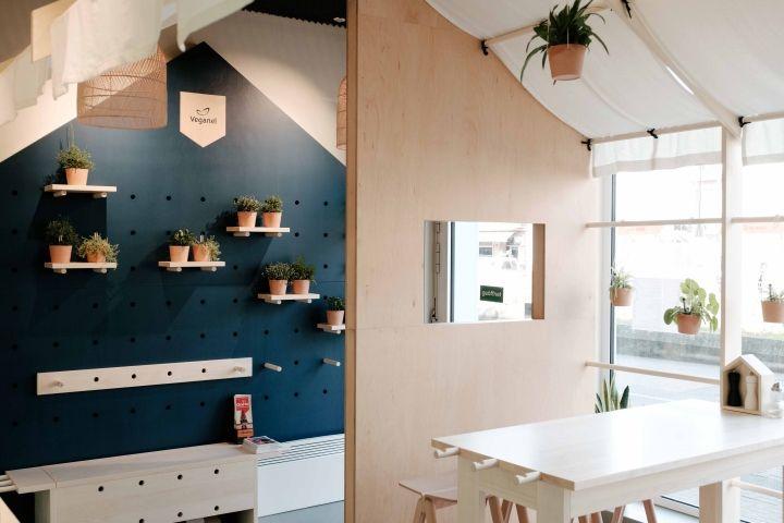 Veganel restaurant by Neoos Design, Nürnberg – Germany » Retail Design Blog