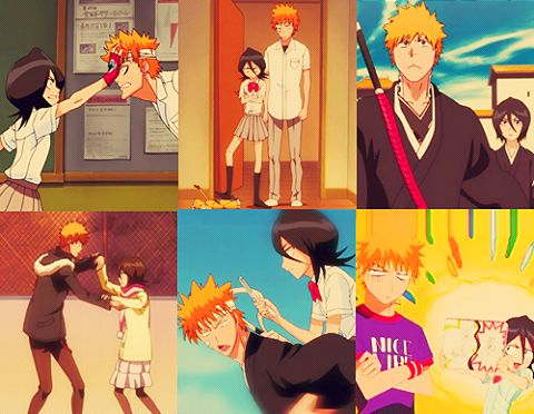bleach ichigo and rukia relationship advice