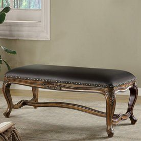Coaster Fine Furniture Warm Brown Indoor Accent Bench 501006