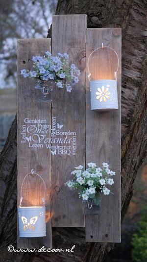 Gemütliche Kerzen im Garten mit diesen selbst gemachten Windlichter, 10 tolle Ideen! – DIY Bastelideen