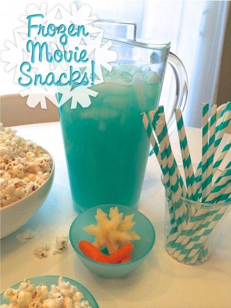 Frozen Movie Party Snacks!