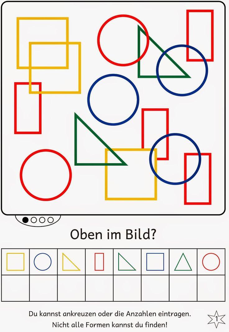 Lernstübchen: Formen im Bild finden