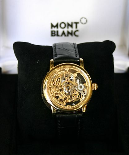 Mont Blanc, machine watch