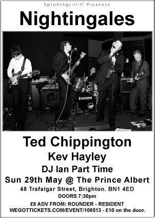 Nightingales, Ted Chippington & Kev Hayley 29/5/11 at The Prince Albert, Brighton