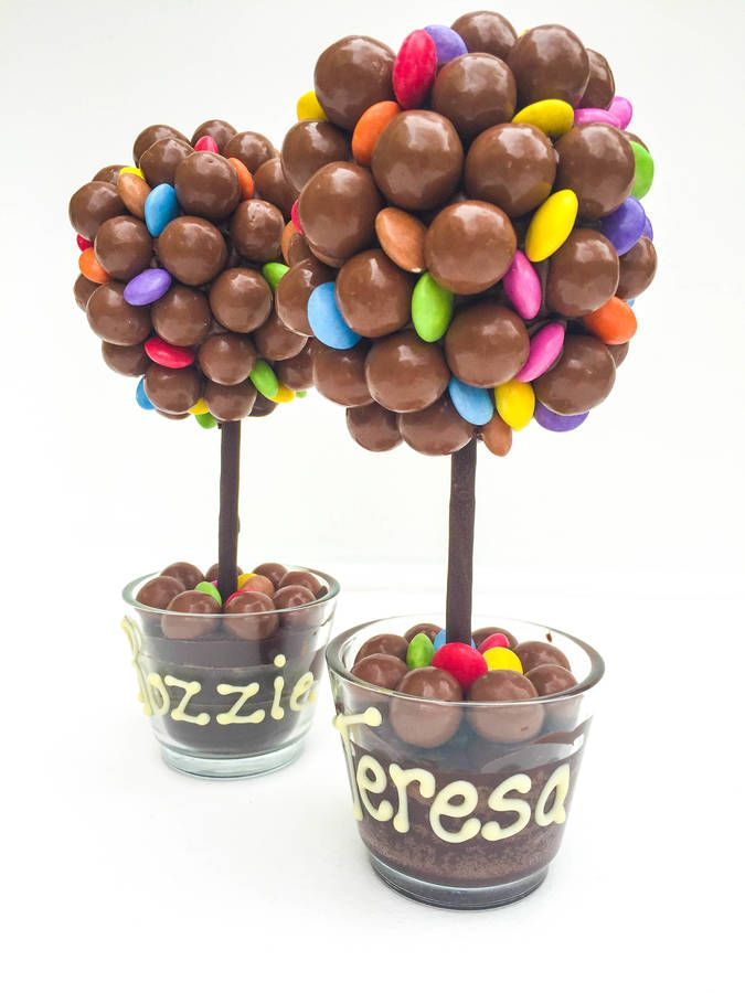 £18.99 - Christmas gift for daddy? Malteser And Smarties Chocolate Tree