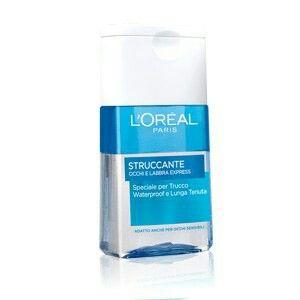 L'Oreal Bifasico - Struccante occhi e labbra. Speciale per trucco waterproof.