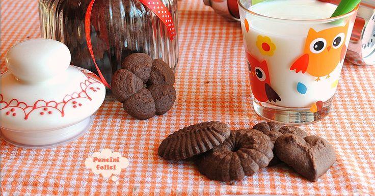 """I biscotti al cioccolato che si """"sparano con la pistola"""""""
