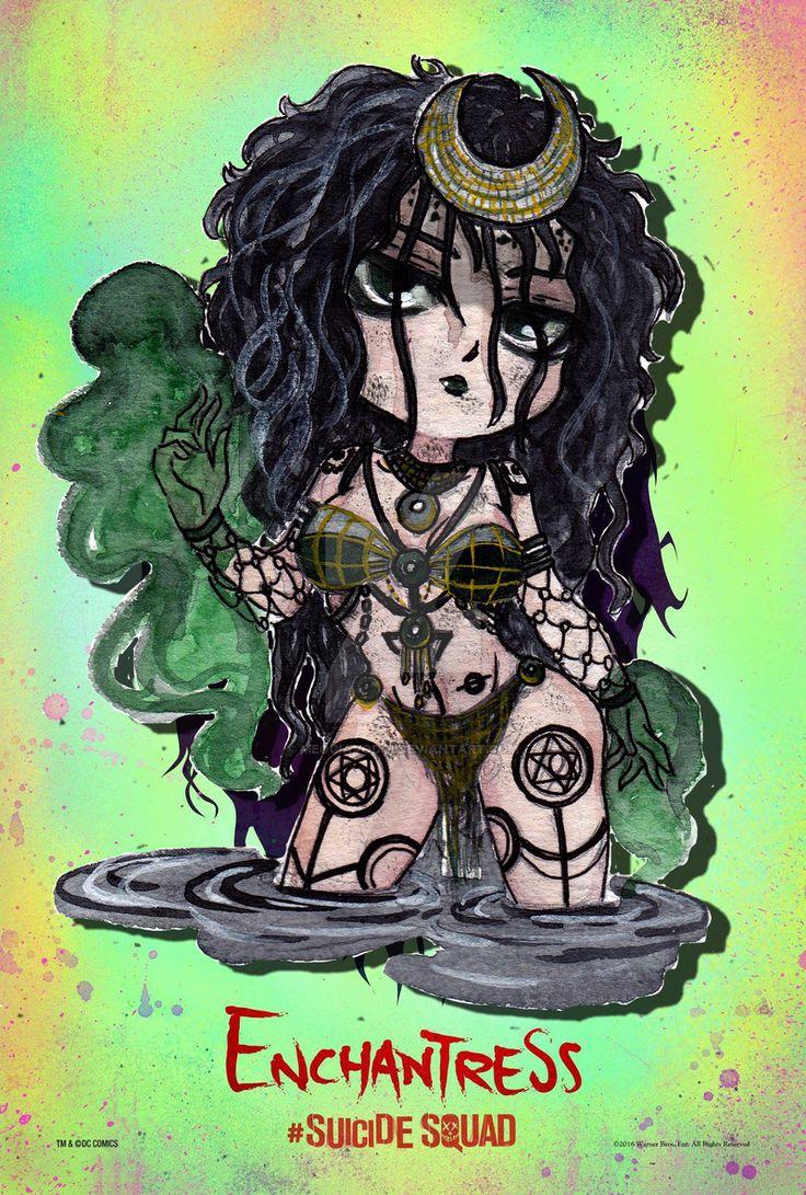 Suicide squad Enchantress by meogiavodoi