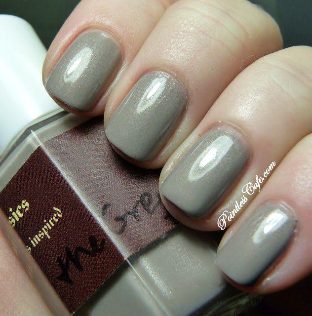 Dove Gray Nail Polish: 1000+ Ideas About Grey Nail Polish On Pinterest