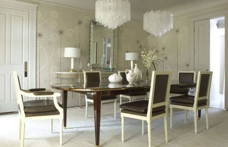 "Fromental wallpaper ""pop pop flowers on platinum silk"""